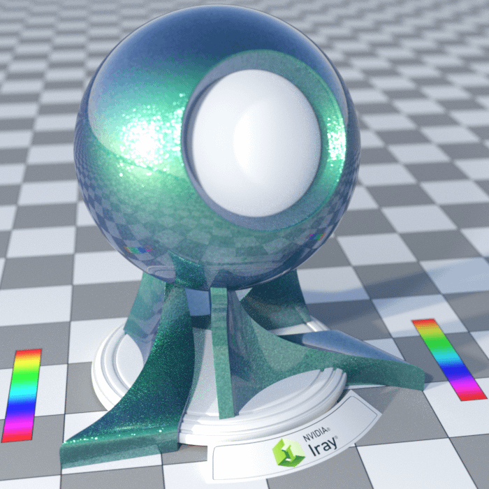 example of spectral rendering switched off