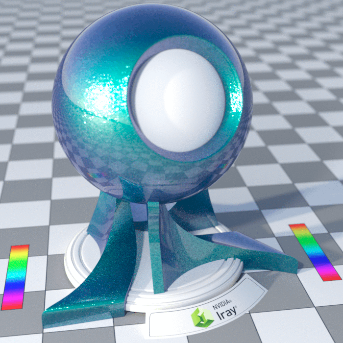 example spectral rendering with faithful on