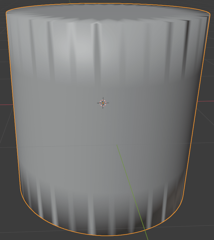 blender subdivision modifier edge crease