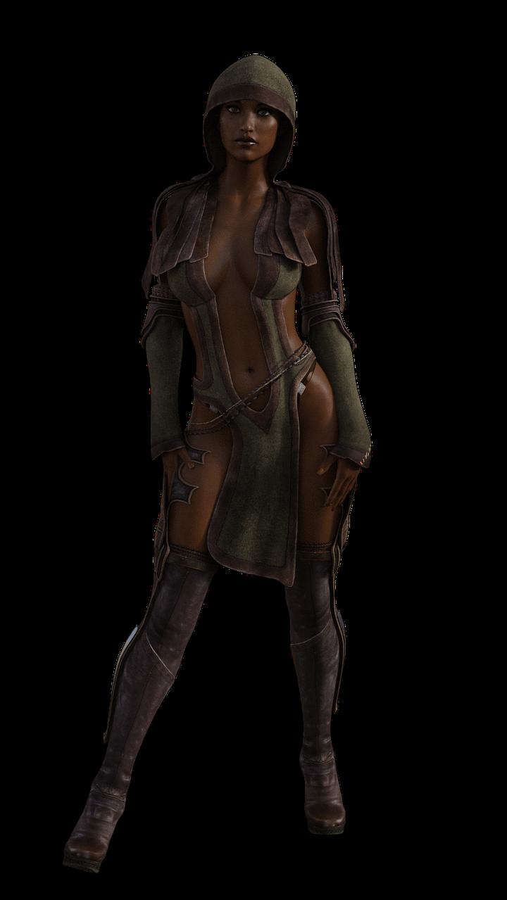 daz 3d final render autofit taia female model iray