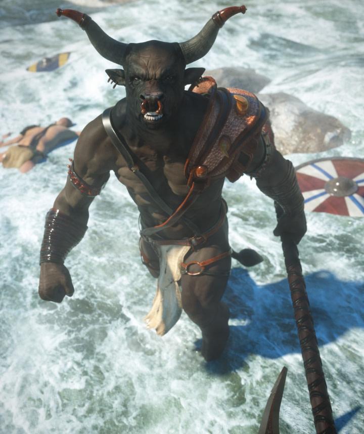 minotaur daz vrakaros armor