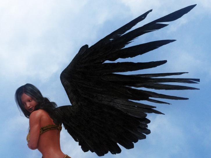 daz3d seraphim wings