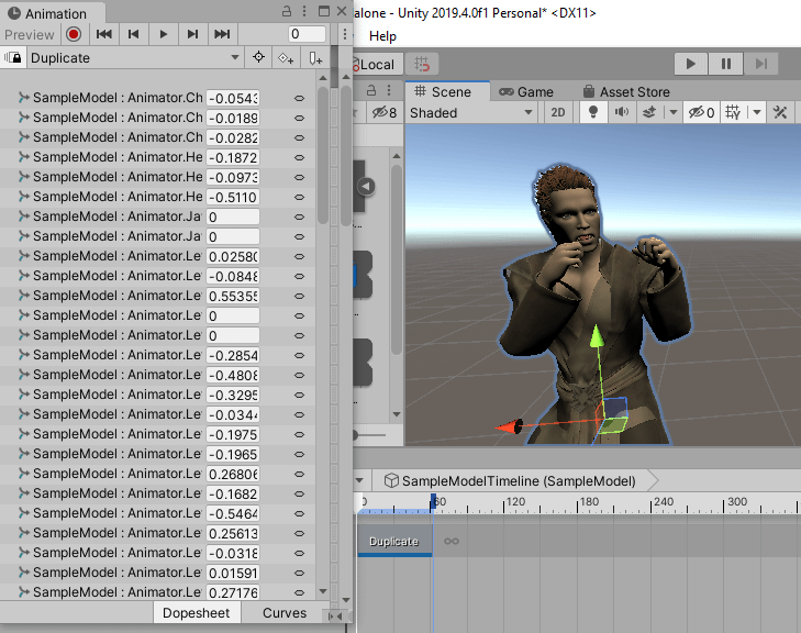unity3d daz genesis figure for animation