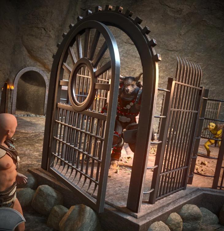 underground daz3d battle arena