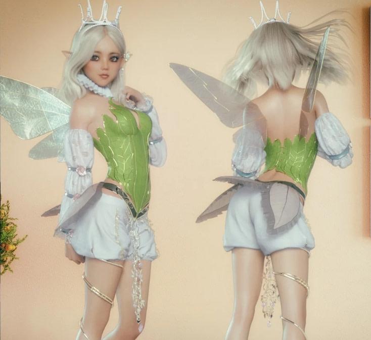 daz3d fairy outfit