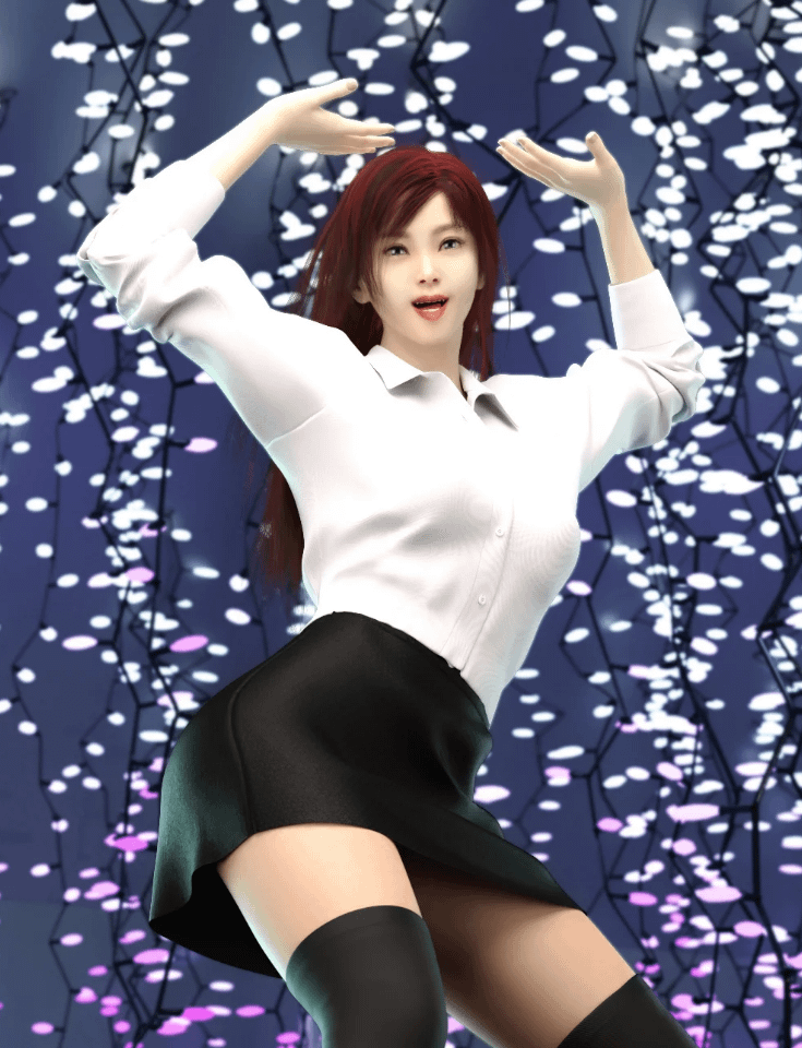 daz k dance poses vol 2 for genesis 8 female