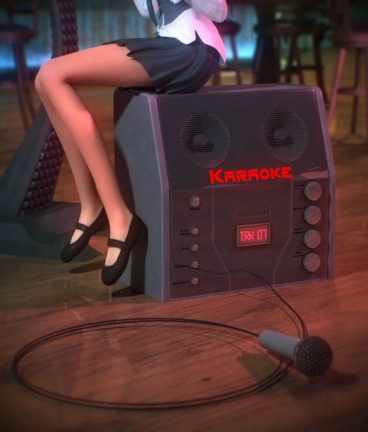 daz karaoke machine