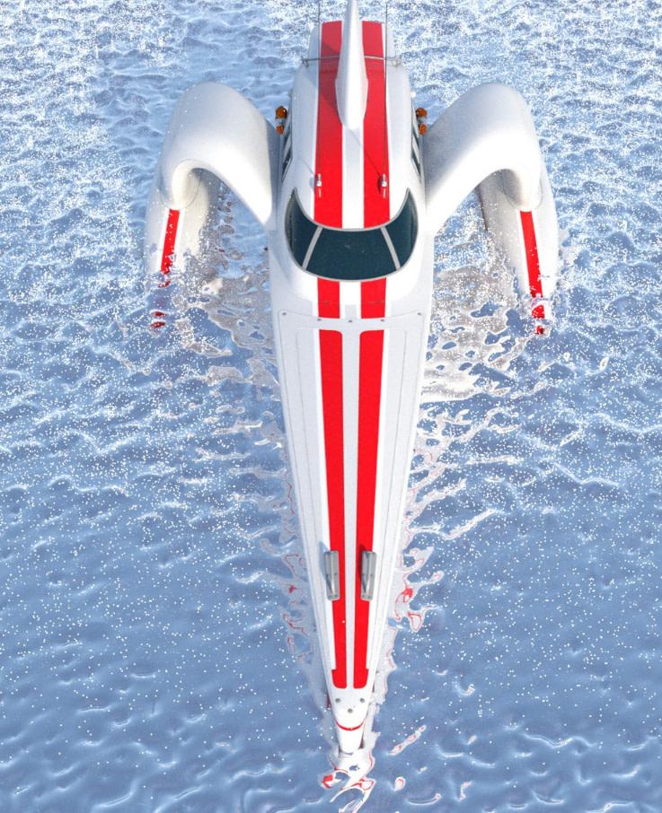 water daz3d planes