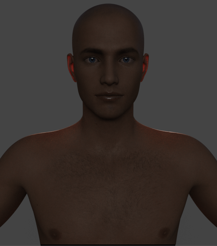 daz3d subsurface scattering example