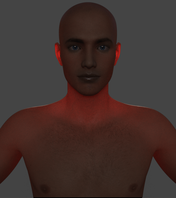 daz subsurface scattering sss amount