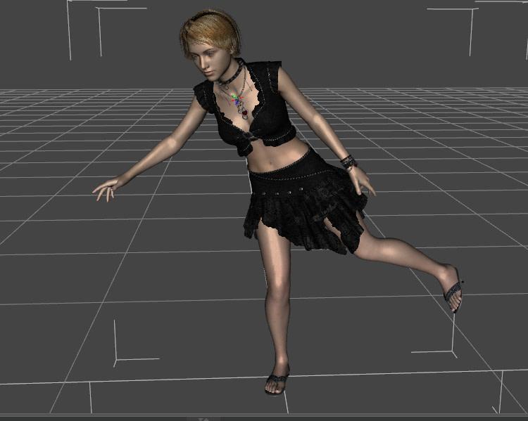 daz studio dance aniblock