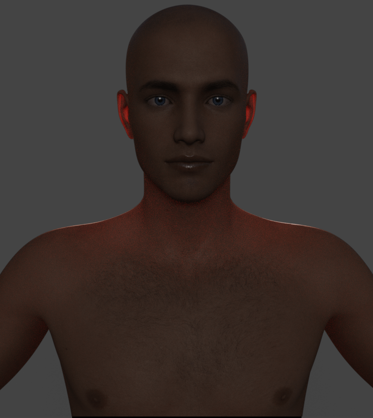 daz studio subsurface scattering transmitted measurement distance