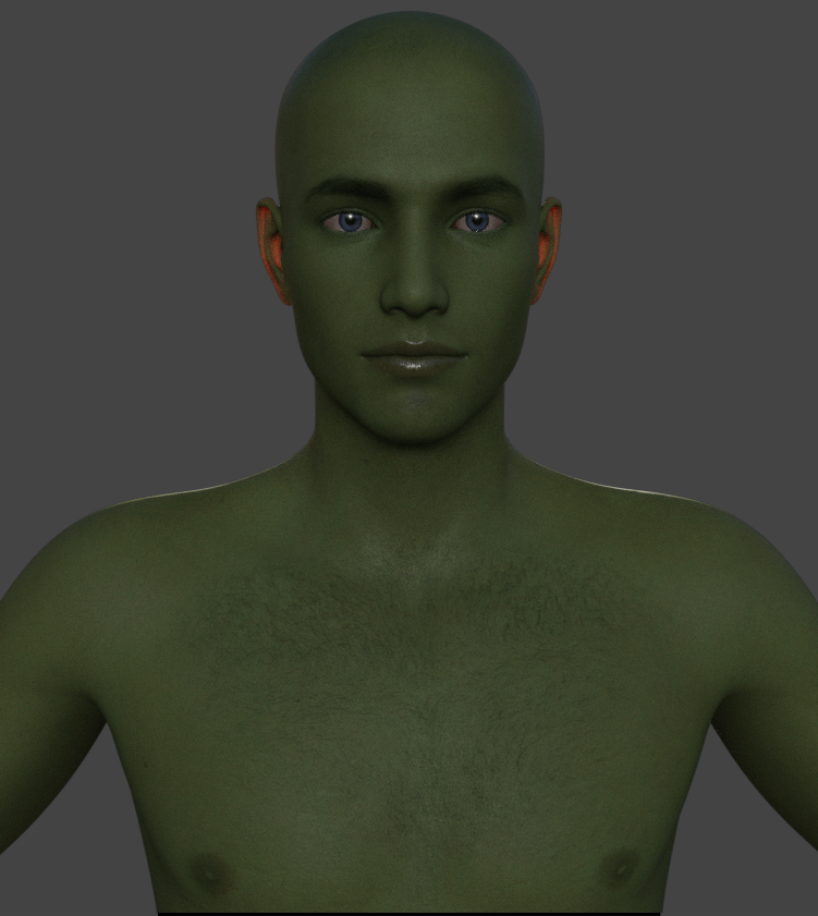 daz3d subsurface scattering reflectance tint