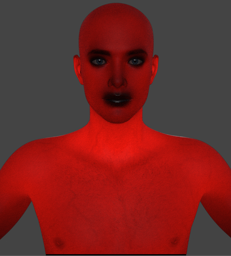 daz studio subsurface scattering off