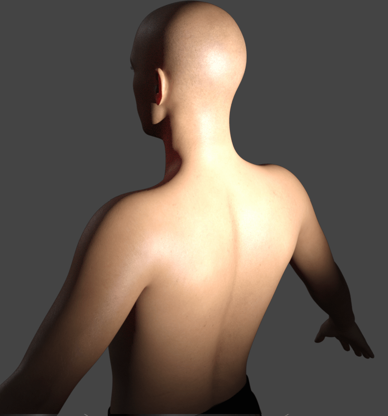 daz studio subsurface scattering direction