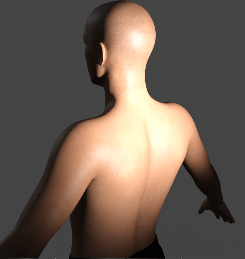 daz3d subsurface scattering direction