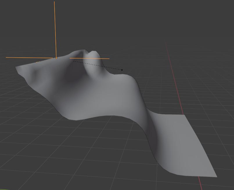 blender cloth simulaton hooking