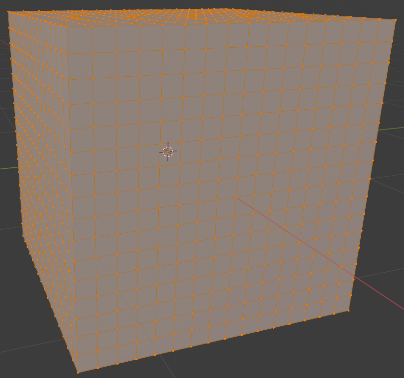 blender simple subdivision surface