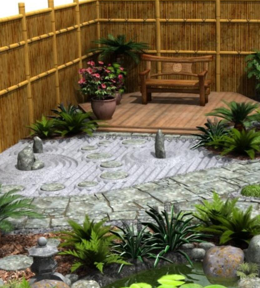 japanese tea garden model