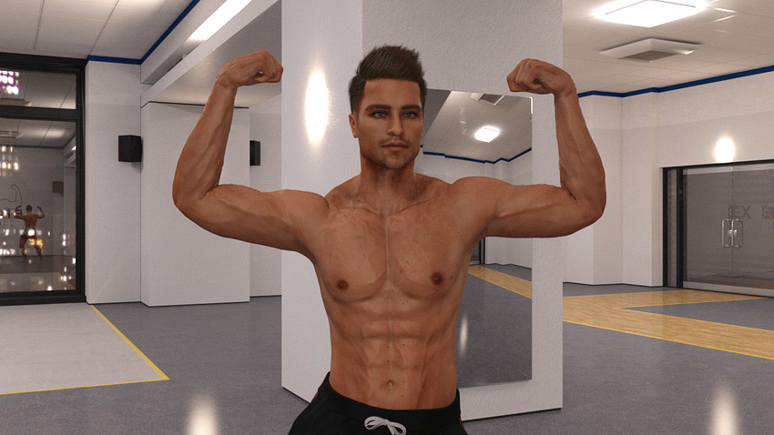 Top 3 Bodybuilder 3d Models