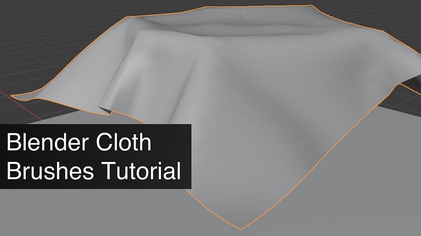 Blender Cloth Simulation Tutorial