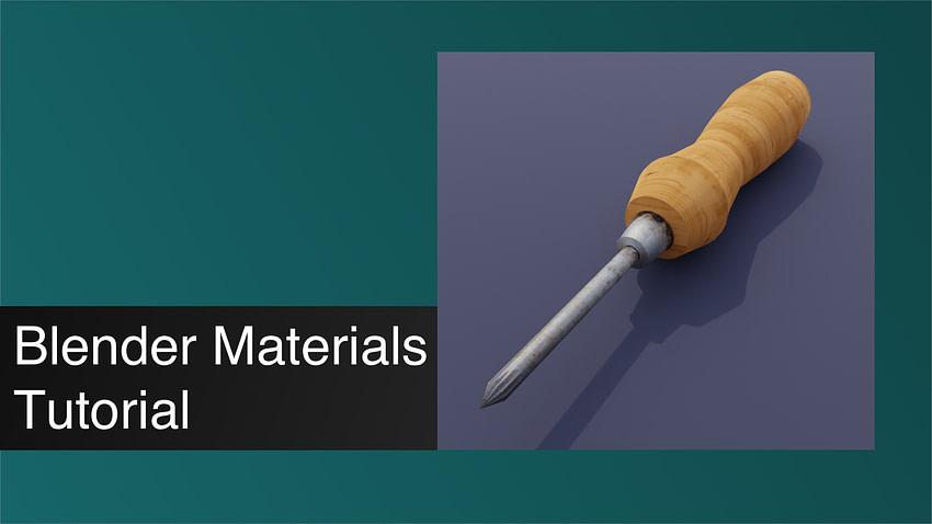 Blender Materials Tutorial