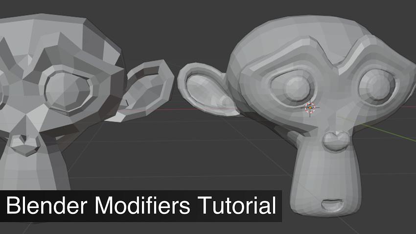 Blender Modifiers Tutorial