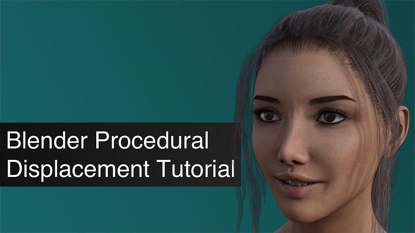 Blender Procedural Displacement
