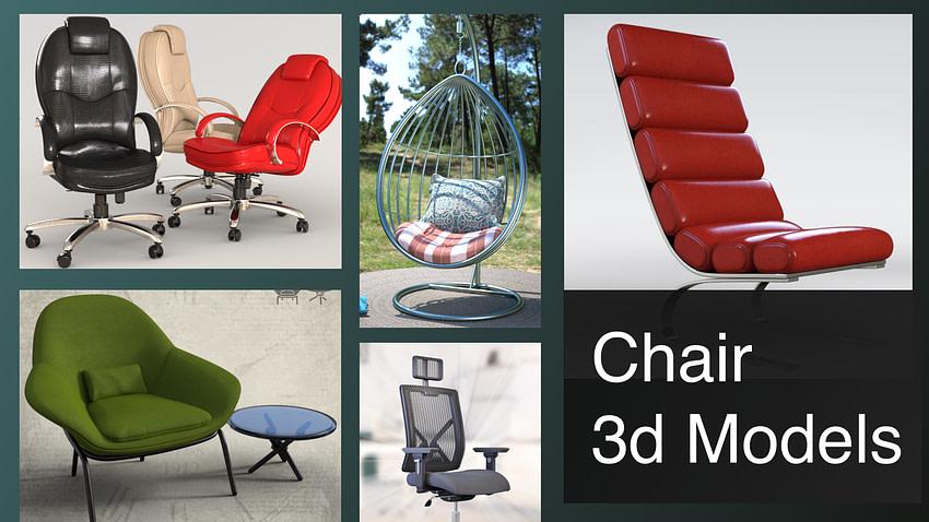 top chair 3d models
