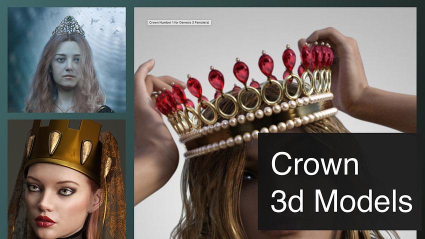 top crown 3d models