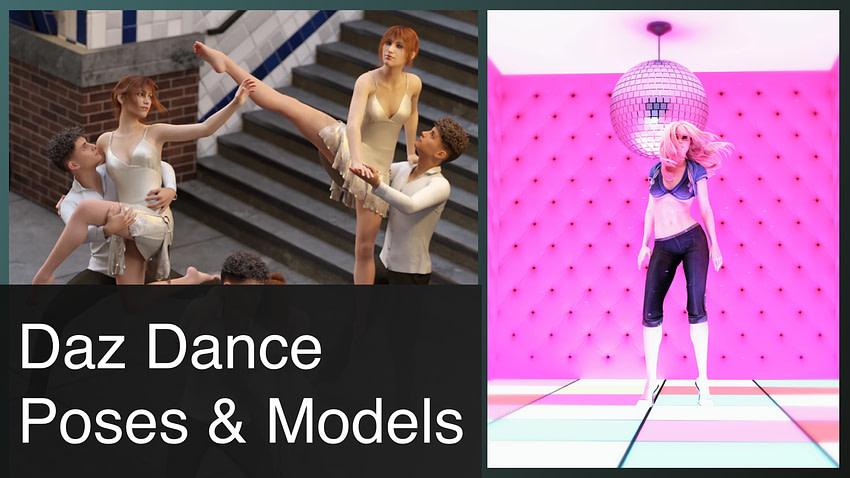 Daz3d Dance Poses & Models