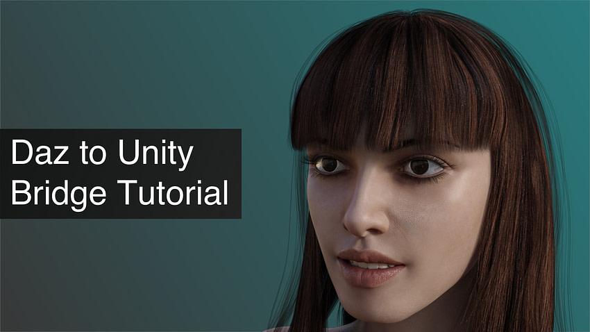 Daz to Unity Bridge Tutorial