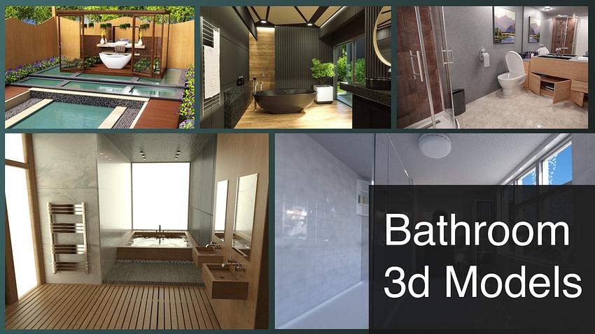 Top Daz3D Bathroom Models