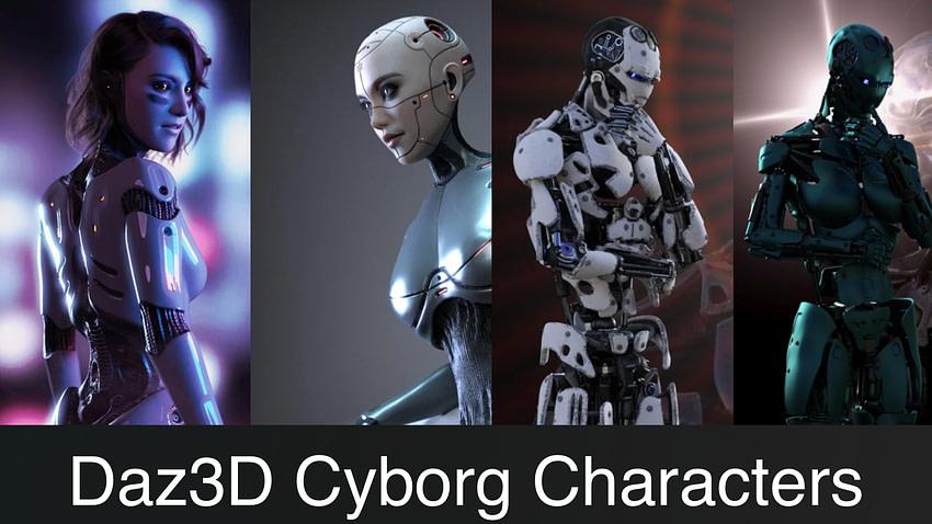 Top Daz3D Cyborg Genesis Characters