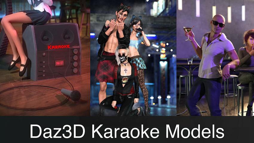 Daz3D Karaoke Models & Poses