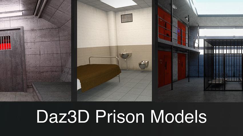 Top Daz3D Prison 3D Models