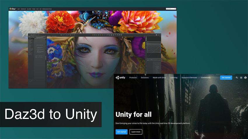 daz3d to unity tutorial