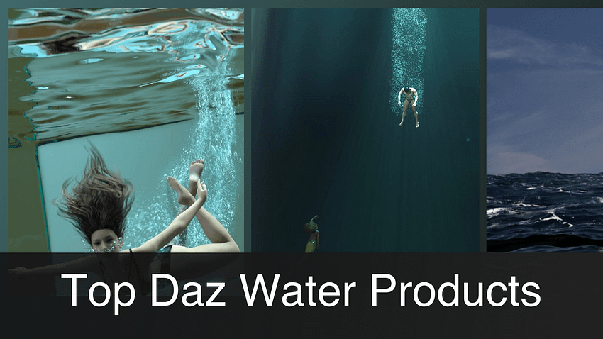 Daz3D Water Products [2021]