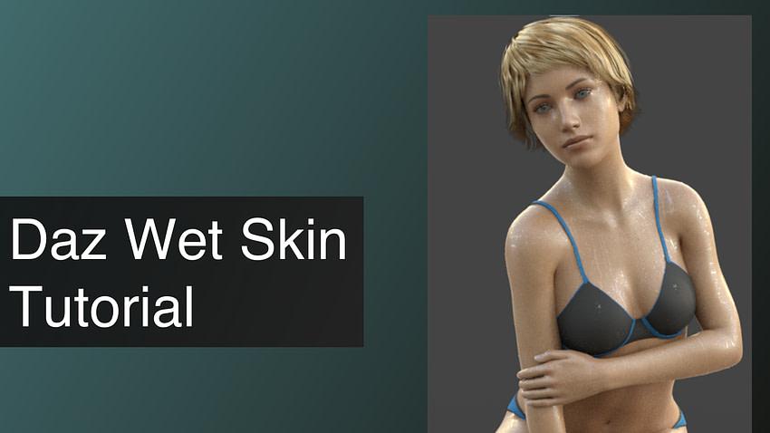 Daz3D Wet Skin Tutorial