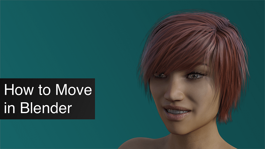 How to Move in Blender Tutorial