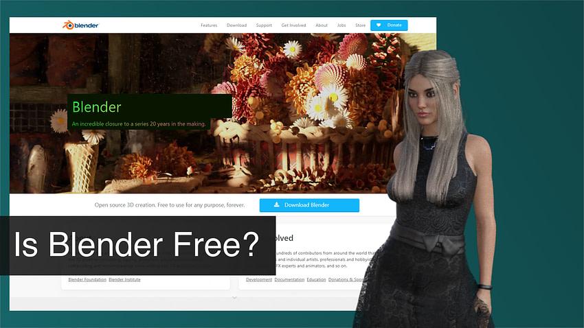 Is Blender free