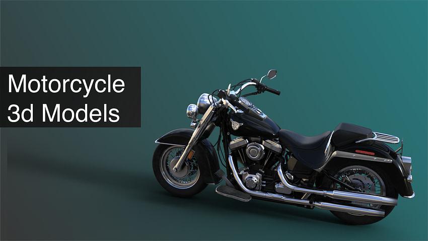 top motorcycle 3d models