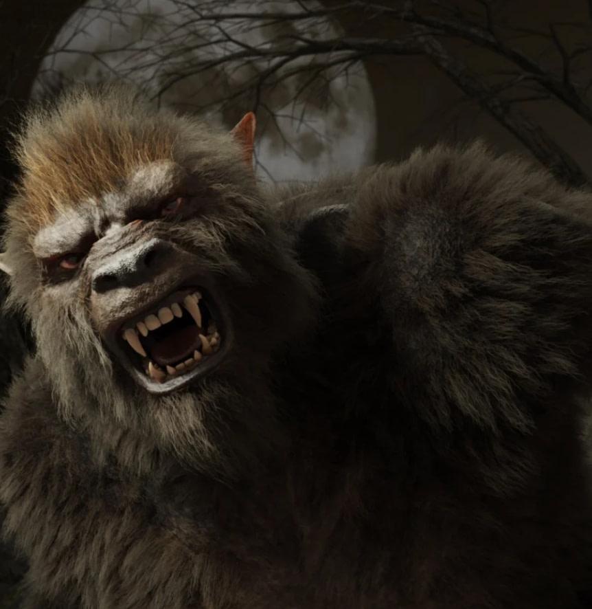 wolfbeat werewolf 3d model