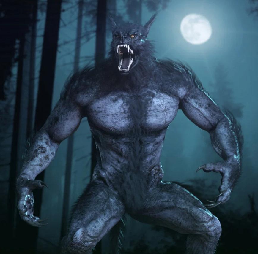 hh werewolf 3d model