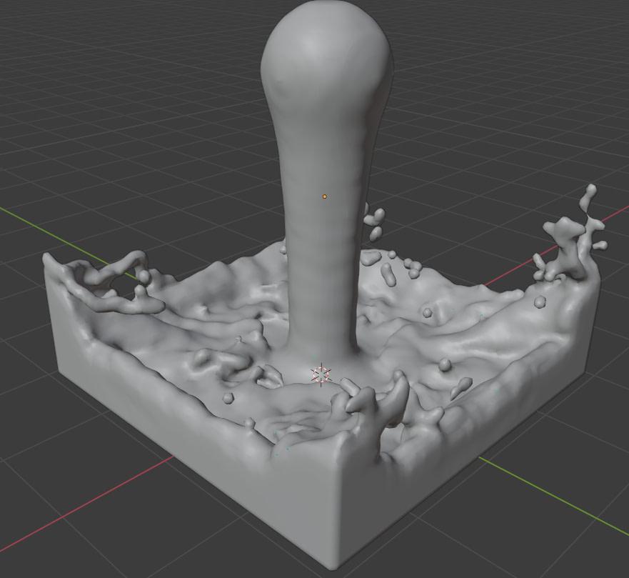 blender resolution division fluid