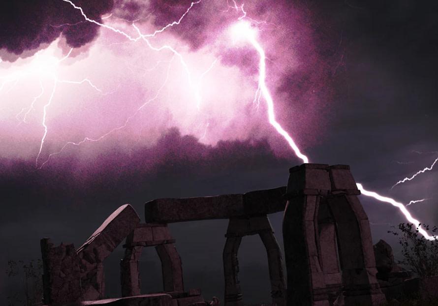 daz studio skydome hdri night storm