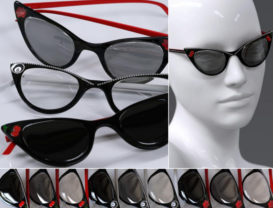daz3d vrv raine glasses