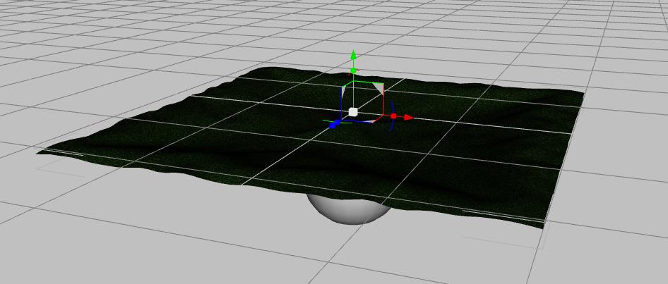 irregular surface simulation in daz
