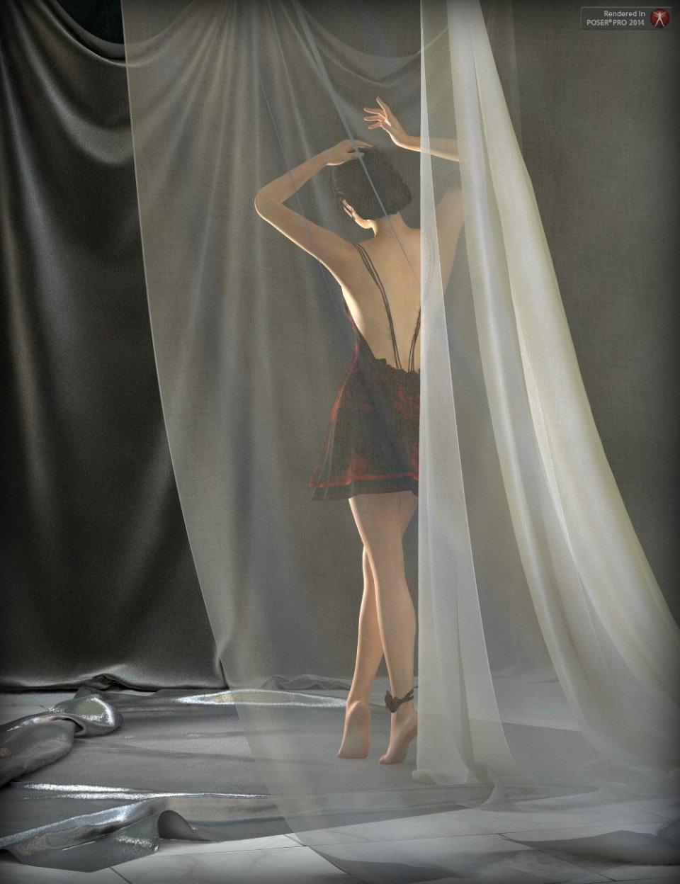 daz drapes
