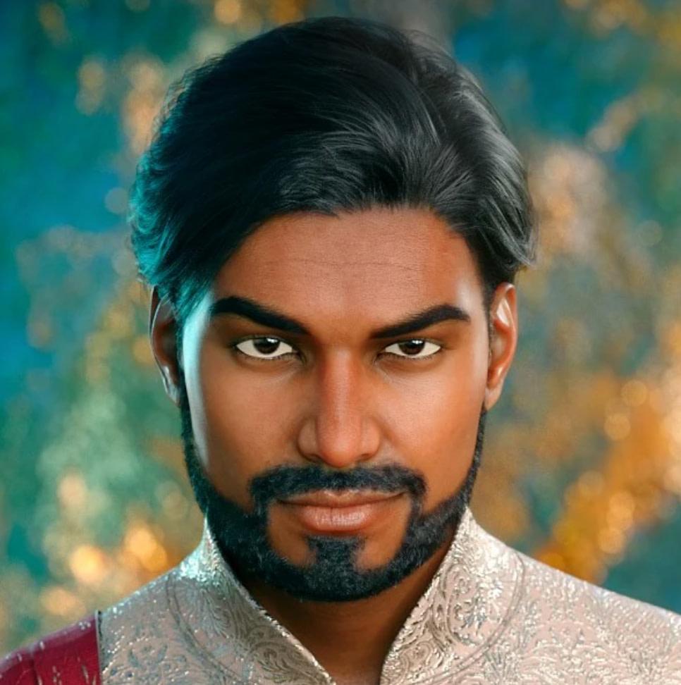 daz indian male sanjay 8